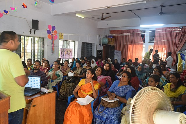 Introduction to Wikipedia at Block Resource Centre, Kodungallur