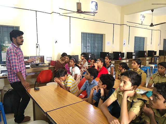 Introduction to Wikipedia at Government Higher Secondary School, Kodungallur